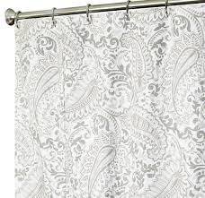 Cassandra Shower Curtain by Amazon Com Extra Long Shower Curtain Paisley Fabric Shower