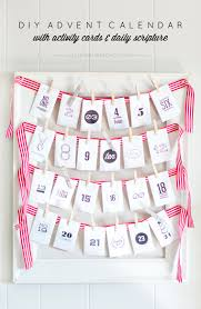 diy advent calendar with activities and scripture yellow bliss road