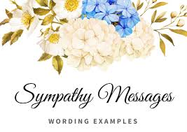 Sympathy Flowers Message - sympathy messages archives thank you note wording