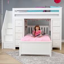 jackpot all in one loft beds image gallery maxwood furniture inc