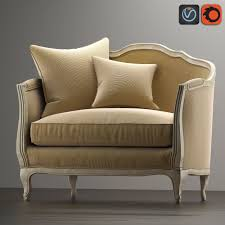 3d asset sofa mini ondine salon bench cgtrader