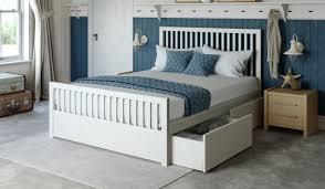 endearing 70 white wood bed frames design inspiration of best 25