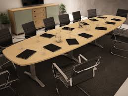 Board Meeting Table Charmingly Elegant Conference Table Home Ideas