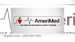 amerimed cpr training cpr certification in la mesa ca youtube