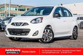 used 2015 nissan micra sr liquidation for sale in montreal