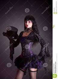 purple and black halloween background magician assistant in purple and black gothic halloween