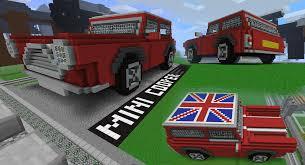 minecraft truck mini cooper in minecraft by terror inferno on deviantart