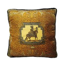 Leopard Home Decor Atelier Versace Silk Pillow Leopard At 1stdibs