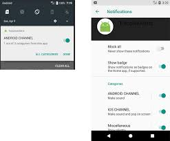 notification settings android android o how to use notification channels