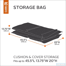 Patio Cushion Storage Bag Patio Cushion And Cover Storage Bag Udibit Weekly