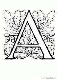 Coloriage Lettre A à imprimer dans les coloriages Lettrine 3