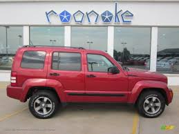 used jeep liberty 2008 2008 jeep liberty sport 4x4 in inferno red crystal pearl 163319