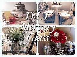 dollar tree faux mercury glass d i y projects youtube