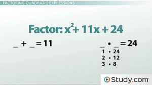 how to factor quadratic equations foil in reverse video