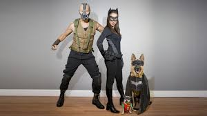 catwoman halloween suit homemade dark knight rises costumes bane catwoman batman robin
