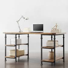 Rustic Home Office Furniture Amazon Com Metro Shop Tribecca Home Myra Vintage Industrial