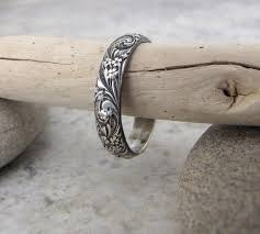 Etsy Wedding Rings by Best 25 Silver Wedding Bands Ideas On Pinterest 3 Wedding Bands