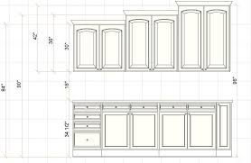 what is the standard height of a kitchen wall cabinet how to determine ceiling height for kitchen cabinets