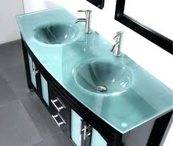 glass top vanity bathroom 24 inch glass top bathroom vanity glass