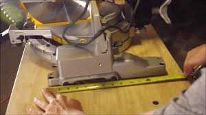 Cutting Laminate Flooring With Miter Saw How To Make A Portable Miter Saw Table Jeff U0027s Diy Projects