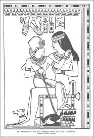 ancient egypt coloring page ancient egyptian design coloring book 022533 details rainbow