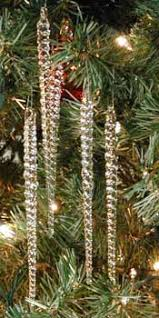 glass icicle ornaments made in u s a mineral point