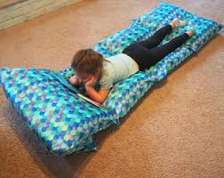 pillow bed for kids pillow lounger etsy