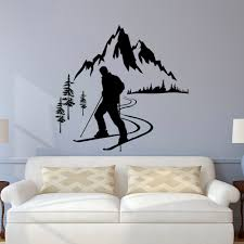 design ideas interior decorating and home design ideas loggr me ergonomic sport wall decals 57 football wall stickers australia skier wall decal winter full size