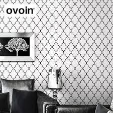 20 ways to modern black and white wallpaper