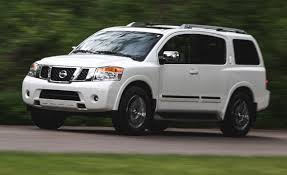 nissan armada cargo space 2015 nissan armada u2013 review u2013 car and driver