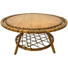 Natural Wood Coffee Tables Adirondack Style Natural Wood Surf Board Coffee Table For Sale At