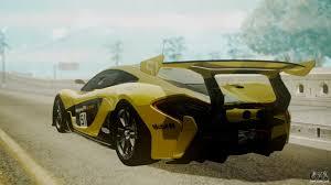 custom mclaren p1 mclaren p1 gtr 2015 yellow green livery for gta san andreas