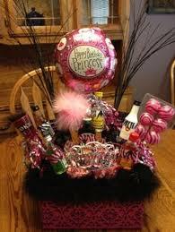 birthday baskets 21st birthday basket i want this i it someone make this for