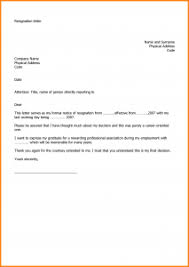 good resignation letters letter format purpose of example a