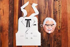 The Mask Costume The Best Lazy Halloween Costume Is This Colonel Sanders Mask And