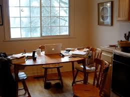 Kitchen Table Desk by Office Kitchen Tables Alluring For Small Home Decoration Ideas