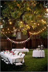 How To Decorate A Backyard Wedding Icicle Lights Backyard Party Decorations Backyard And Decoration