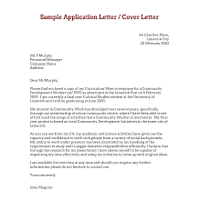 cover letter casual job download free application letters