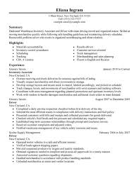 Resume For Forklift Operator Resume Examples For Warehouse Picker And Packer Resume Sample