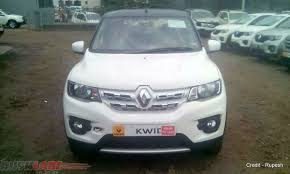 renault kwid silver colour fully accessorized renault kwid u0027sports u0027 seen at dealership