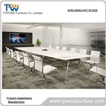 marble conference room table 20 seats luxury artificial marble stone acrylic solid surface