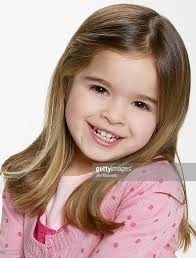 hair cute for 6 year old girls portrait of a 6 year old girl stock photo getty images
