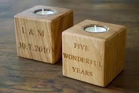 fifth wedding anniversary gift 5th year wedding anniversary gift ideas wood decorating wedding