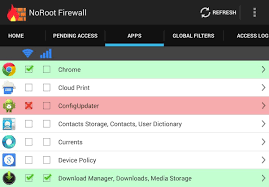use a firewall control web access for apps u0026 stay