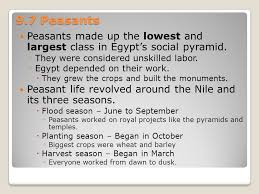chapter 9 daily life in ancient egypt ppt video online download