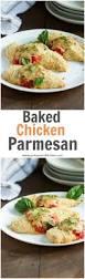 healthy baked chicken parmesan primavera kitchen