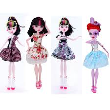 online get cheap monster high clothes aliexpress com alibaba group nk 4 set new arrival handmade doll strapless clothes fashion lace stocking for monster high doll for bjd dolls best gift