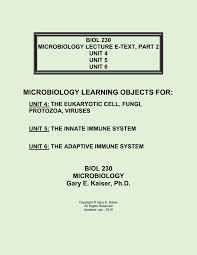 biol 230 lecture guide the yeast saccharomyces