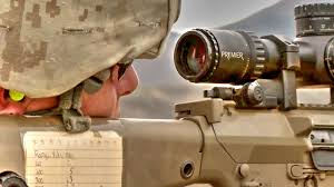 marine corps snipers shooting the m110 sass sniper rifle youtube