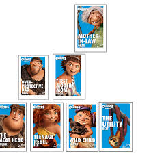 croods characters family tree group extended family
